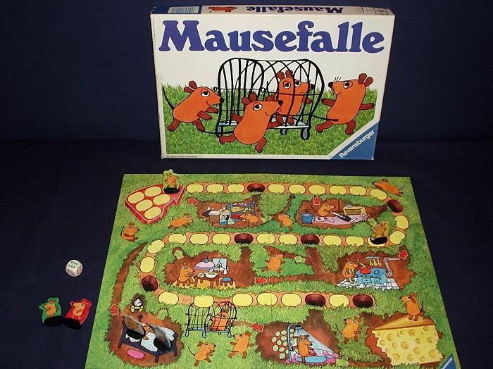 Spiel Mausefalle